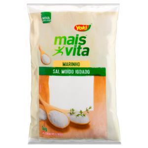 Sal Marinho Yoki Mais Vita Pacote 1kg