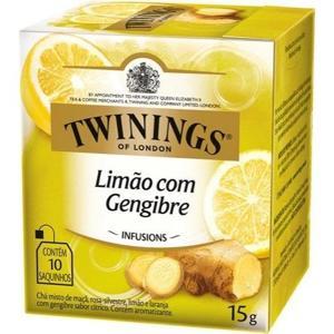 Chá Twinings Limão e Gengibre 15g