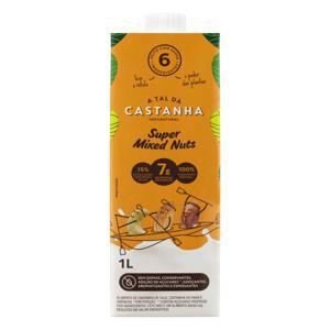 Bebida à Base de Castanha Mixed Nuts A Tal da Castanha Caixa 1l