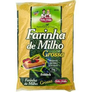 Farinha de Milho FRITZ&FRIDA 1Kg Grossa