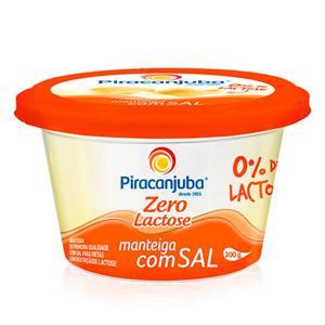 Manteiga Piracanjuba Zero Lactose 200G
