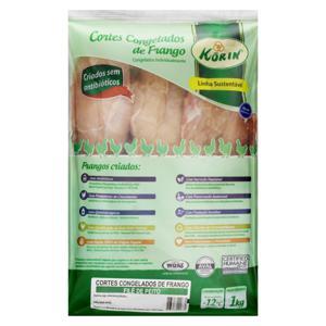 Filé de Peito de Frango Congelado Kórin Sustentável 1kg