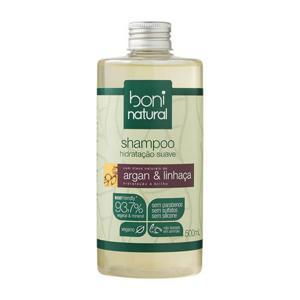 Shampoo Argan com Linhaça Boni 500ml