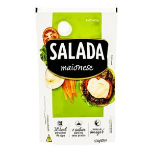 Maionese Salada 500G Sache C/Bico