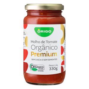 Molho De Tomate Orgânico Premium (330g)