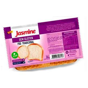 Pão Fatiado Sem Glúten Jasmine Tradicional 350G