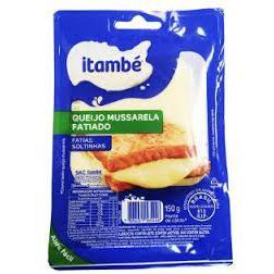 Queijo Itambe 150G Mussarela Fatiado