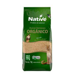 Açúcar Orgânico Native Demerara 1Kg