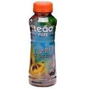 Chá Fuze LEÃO Ice Tea Pêssego 300ml