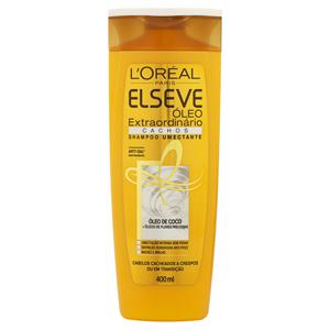 Shampoo Umectante L'oréal Paris Elseve Óleo Extraordinário Cachos Frasco 400ml