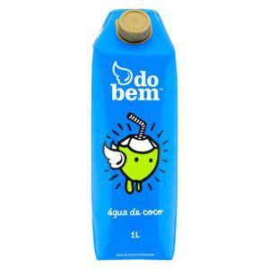 Água de Coco Esterilizada Do Bem Caixa 1l
