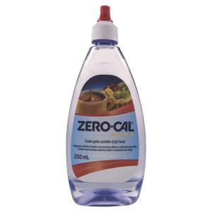 Adoçante Líquido  Sacarina Zero Cal 200ml
