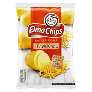 Batata Palha Tradicional Elma Chips Pacote 70g