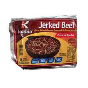 Charque Jerkeed Beef KADÃO Ponta de Agulha 500g