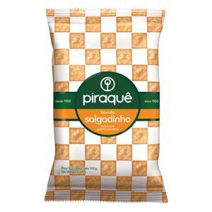 Biscoito Salgadinho Piraquê Pacote 100g