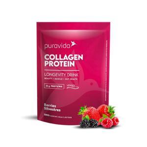 Collagen Protein Berries Silvestres 450g - Puravida