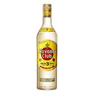 Rum Cubano Havana Club Envelhecido 3 Anos 750ml