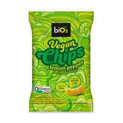 Chips Vegano Lemon Pepper Orgânico 40g - biO2