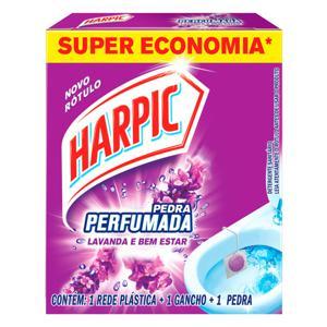 Detergente Sanitário em Pedra Lavanda e Bem-Estar Harpic