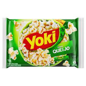 Pipoca para Micro-Ondas Queijo Yoki Pacote 100g