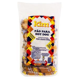 Pão para Hot-Dog Kim Pacote 500g