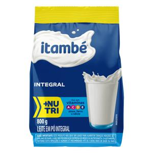Leite em Pó Integral Itambé Pacote 800g Embalagem Econômica