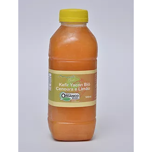 Suco Kefir Mantibio Yacon Cenoura Limao Organico Congelado 300Ml