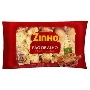 Pão de Alho Recheio Picante com Queijo Zinho Pacote 300g