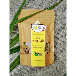 Chá orgânico Capim Santo - 15g