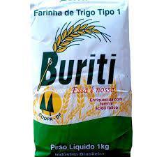Farinha de Trigo BURITI 1Kg