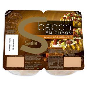 Bacon Em Cubos 140G Sadia
