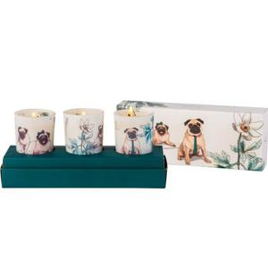 Velas perfumadas Pug Kit