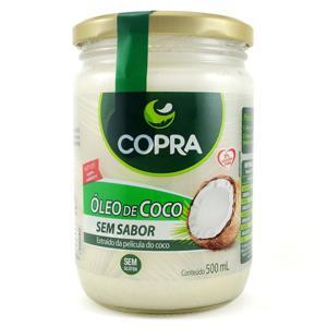 Óleo de Coco Copra Extra Virgem Sem Sabor 500ml