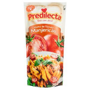 Molho de Tomate com Manjericão Predilecta Sachê 340g