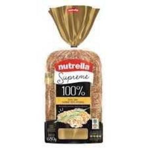 Pão de Forma Supreme NUTRELLA 100% 600g