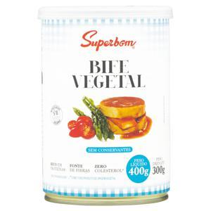 Bife Vegetal Superbom Lata 300g
