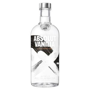 Vodka Destilada Saborizada Absolut Vanilia Garrafa 750ml