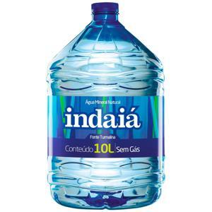 Água INDAIÁ sem Gás 10L