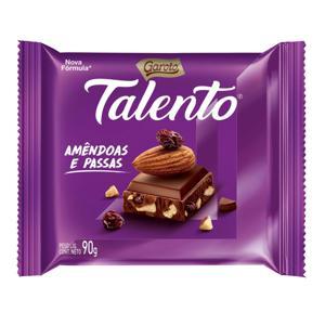 Chocolate TALENTO Amêndoas 90g