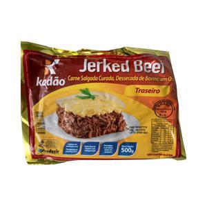Charque Jerkeed Beef KADAO Traseiro 500g