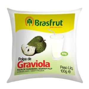 Polpa de Fruta BRASFRUT Graviola 100g