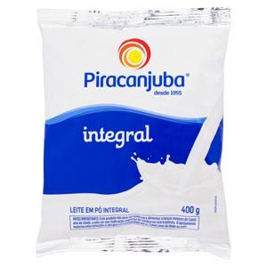 Leite em Pó Integral Piracanjuba Pacote 400g