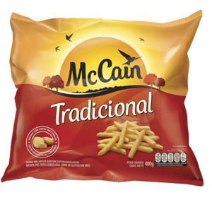 Batata Congelada MCCAIN Corte Tradicional Pacote 400g