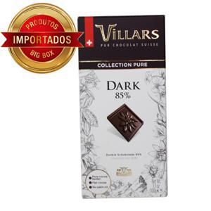 Chocolate Suiço Villars 85% Cacau 100G