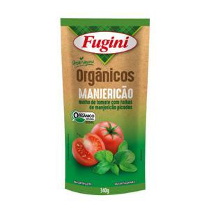 Molho de tomate fugini sabor manjericão 340g