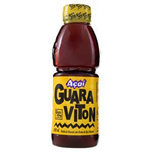 Bebida Guaraná e Açaí Guaraviton Garrafa 500ml