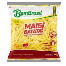 Batata frita congelada Bem Brasil   2Kg