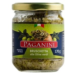 Bruschetta 170G Paganini Alle Olive