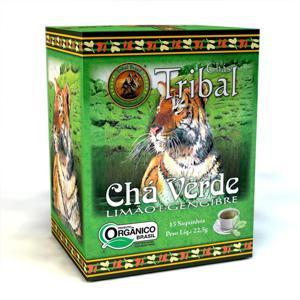 Chá verde ôrganico Tribal - 15 sachês.
