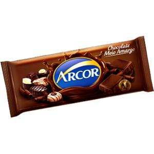 Chocolate Arcor Meio Amargo 80g